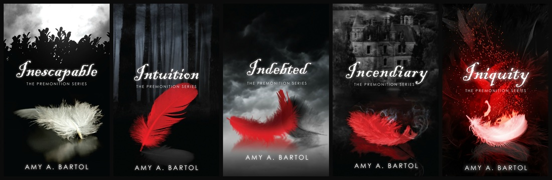 Image result for amy a. bartol premonition series